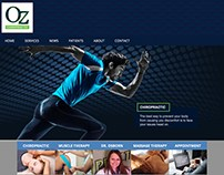 Oz Chiropractic Website