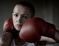 Boxing scene