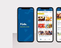 Füds - App Interface Design