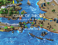 A Game of Thrones - World Map