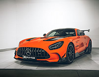 Mercedes AMG GT Black Series Photoshooting