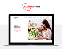 Website for Rzetelna Firma