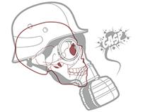 Gas Mask Illustarion