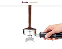 Breville Cafe Quality Website