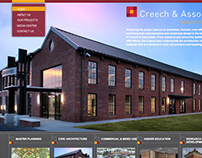 Creech and Associates Corporate Website