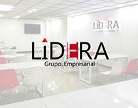 Lidera Coworking Branding