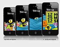Mobile Design | TIDE'S UP