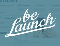 Be Launch - Website Task
