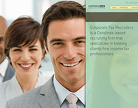 Corporate Tax Recruiters Mini Site