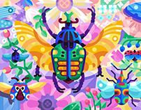 Creatures and Colors for Gallery: the Game