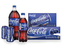 Blueberry Coca-Cola