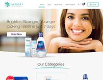 UI UX Creative web design product website