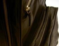 VRC black guitar bag