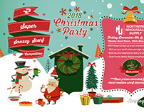 2018 Christmas Party Flyer