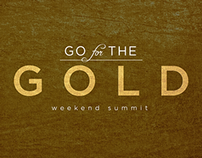 Go for the Gold: logo + website