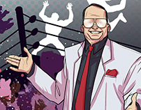 Jim Cornette's Behind the Curtain - IDW Publishing