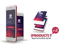 (Product) 7 App Promo Mock-Up Kit