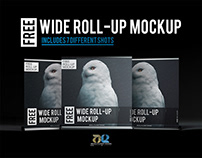 Wide Roll-up Mock up