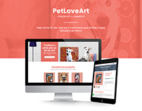 E-commerce PetLoveArt