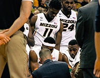 Mizzou Hoops Game Photography
