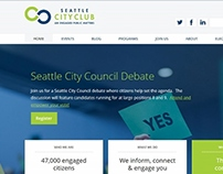 Seattle CityClub redesign