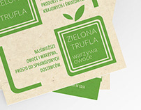 Rebranding and promotional materials for Zielona Trufla