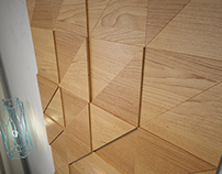 WoodWalls Ledge: WoodPanels