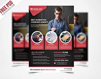 Free PSD : Corporate Business Flyer Template PSD