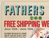 E-Blast | Fathers Day | NutraBio