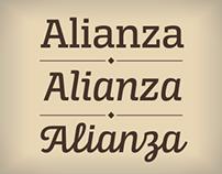 Alianza Font Family