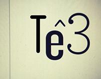 Tê3 logo by Tê3