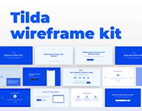 Tilda wireframe kit