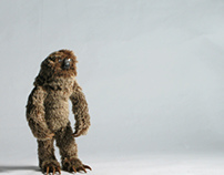 Sloth Puppet Walk Cycle