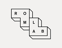 Romlab — identity and webpage