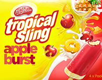 Tropical Sling FOP Illustrations