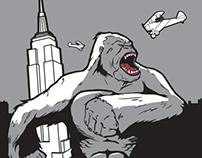 King Kong T-shirt design