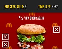 HTML5 McDonalds Promotional Game - WebGL & Phaser.js