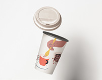 Coffee Consumption Illustrations