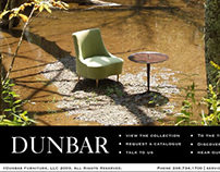 Dunbar Furniture Mini-site