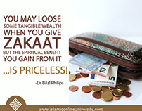 Islamic Online University Poster- Zakat