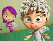 Анимационный сериал Angel Baby