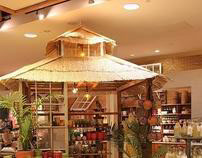 Anthropologie 'Pigeon's Kitchen' In-store Concept 2010