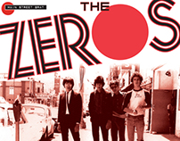 ZEROS vinyl 45 covers and logo