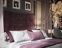 Master bedroom in Art Deco Style