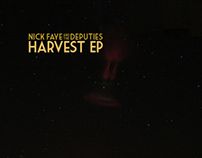 Harvest EP Album Art - Nick Faye & The Deputies