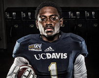 UC Davis Football - Photoshoot