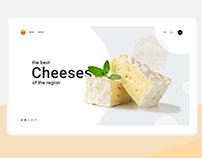 Cheeses store. Moshnu Sur.