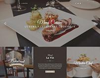 Lavie Restaurant Responsive WordPress Theme