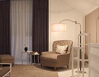 Night view І Bedroom І Interior design