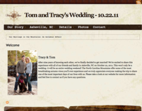 Tom & Tracy's Wedding Website